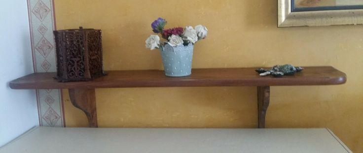Mensola in legno da appendere-scaffale da appendere-ripiano da appendere-libreria a muro-scaffalatura in legno-arredamento casa di lovelymore su Etsy