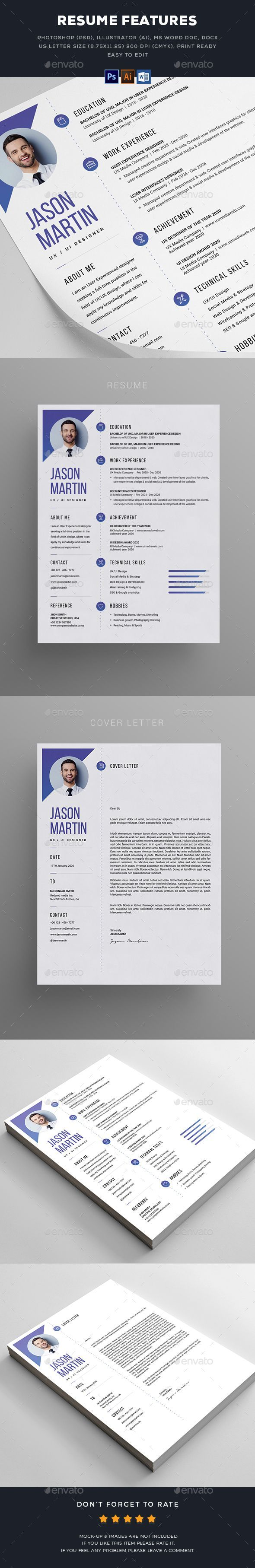 federal resume examples it specialist%0A  Resume  Resumes Stationery Download here  https   graphicriver net