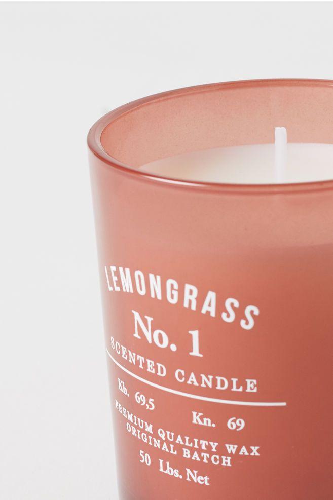 Candela profumata in vasetto   Cedarwood candle, Candles