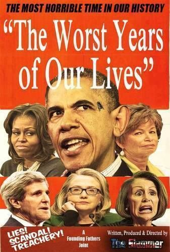 Yes they all were !!! What's happened to this country to allow this to happen?? We got it back & we are topping it in!