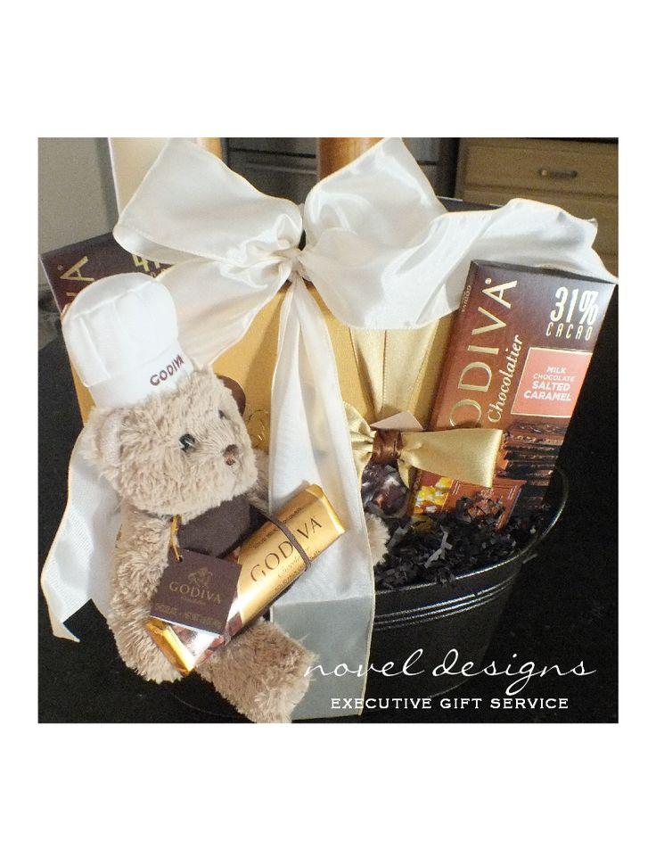 Godiva Gift Basket Custom Designed Gift Baskets For