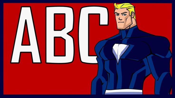 Superhero ABC Alphabet Song