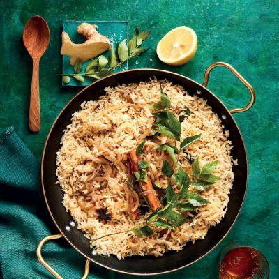 Breyani-inspired fragrant rice