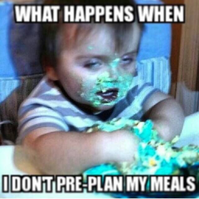 Always! Always! Plan ahead!!! My weekly plan includes all of my amazing Advocare…