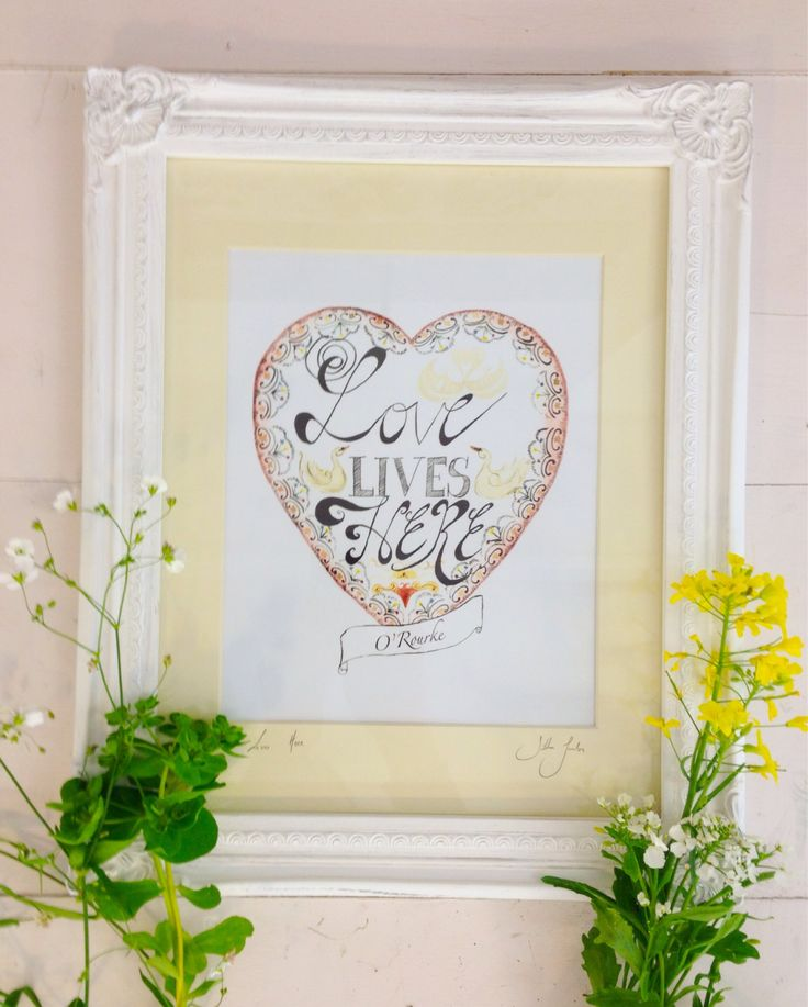 custom house warming wedding gift personalised gift for new home by SiobhanJordan on Etsy