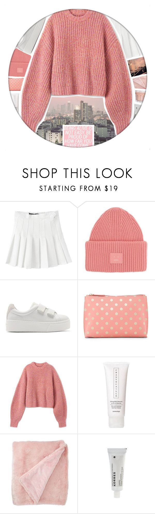 """1446"" by glitterals ❤ liked on Polyvore featuring American Apparel, Acne Studios, Kenzo, Shiraleah, Chantecaille, Nordstrom Rack and Korres"