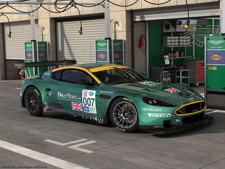 AstonMartin DBR9 Paddock by dangeruss.deviantart.com on @deviantART