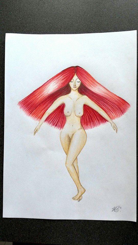 naked woman drawing :o)