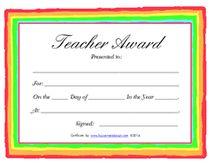 free certificates for teachers