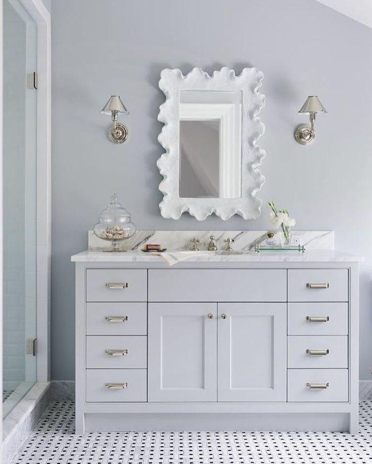 Best Ballard Designs Atoll Rectangular Mirror Polished Nickel 400 x 300