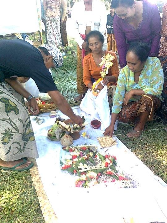 Ngaben ceremony