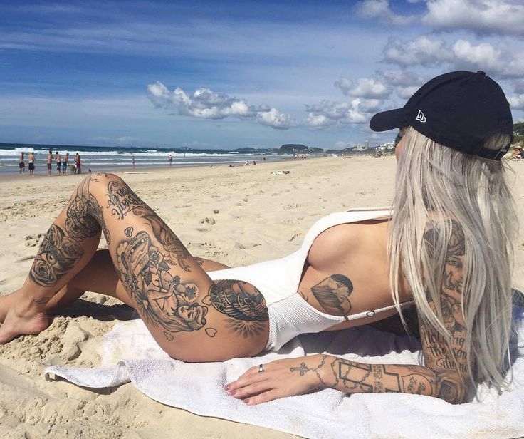 Have Naked tattoo girl on the beach necessary words