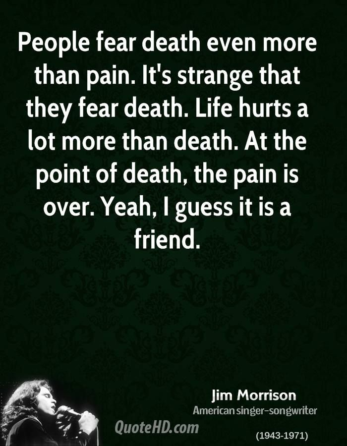 Jim morrison a fraction of an intellectual mind