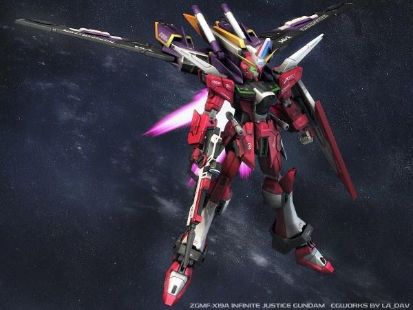Infinite Justice Gundam Charge by sandrum.deviantart.com on ...