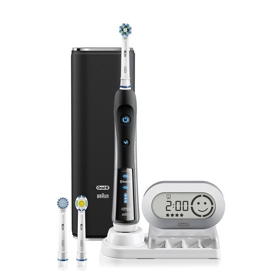Today Deals 55% OFF Oral-B Pro 7000 SmartSeries Black Electronic Power Rechargeable Battery Electric Toothbrush   Amazon: Today Deals 55% OFF Oral-B Pro 7000 SmartSeries Black Electronic Power Rechargeable Battery Electric Toothbrush with Bluetooth Connectivity Powered by Braun   Amazon #TodayDeals #DailyDeals #DealoftheDay - The Oral-B Black 7000 SmartSeries with Bluetooth is the worlds first of its kind with Bluetooth connectivity. Bluetooth communication allows the brush to connect with…