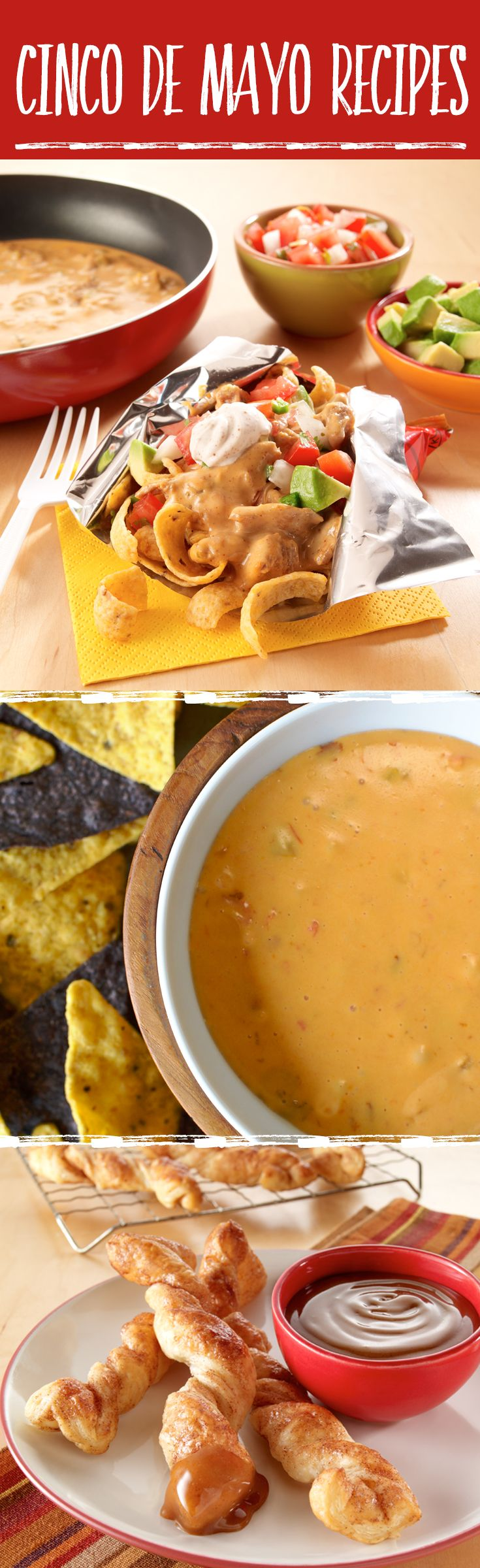 The best Cinco de Mayo recipes — everything from Salsa con Queso to Mexican-inspired Baked Churros.