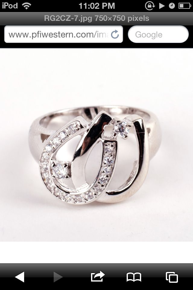 horse shoe ring <3 where do I get one? :)