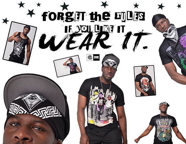 Wear it. www.crmcclothing.co | We Ship Worldwide #snapback #snapbacks #hiphop #hiphopart #hiphopculture #hiphophead #wearit #wearitloveit #blackmodel #wearitwell #hotblackmen #hotblackguys #forgettherules #bandanas #graffiti #ifyoulikeit #beast #bandana #blackmenwithstyle #alternative #dark #darkwear #streetwear