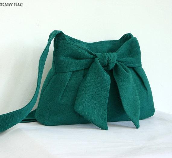 Messenger bag, hand woven hemp