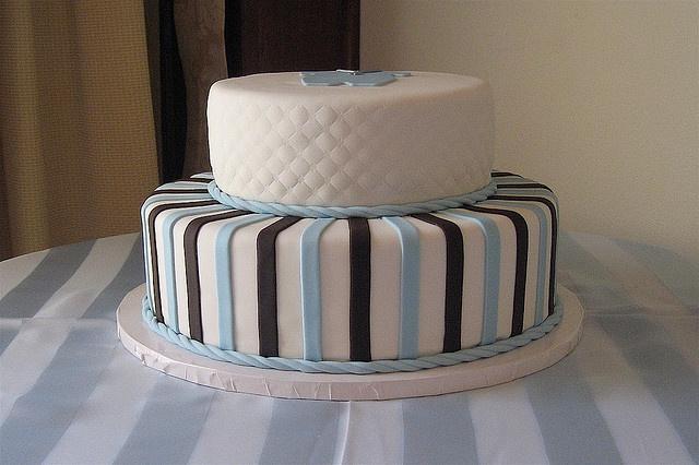 Baptism cake idea