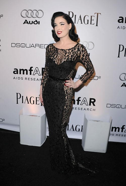Dita Von Teese is the definition of classic.