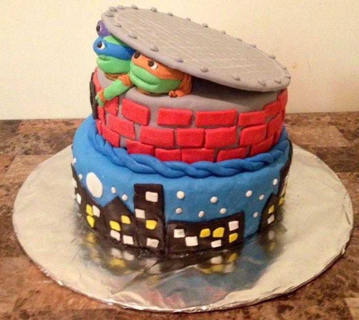 Ninja Turtle Th Birthday Cake