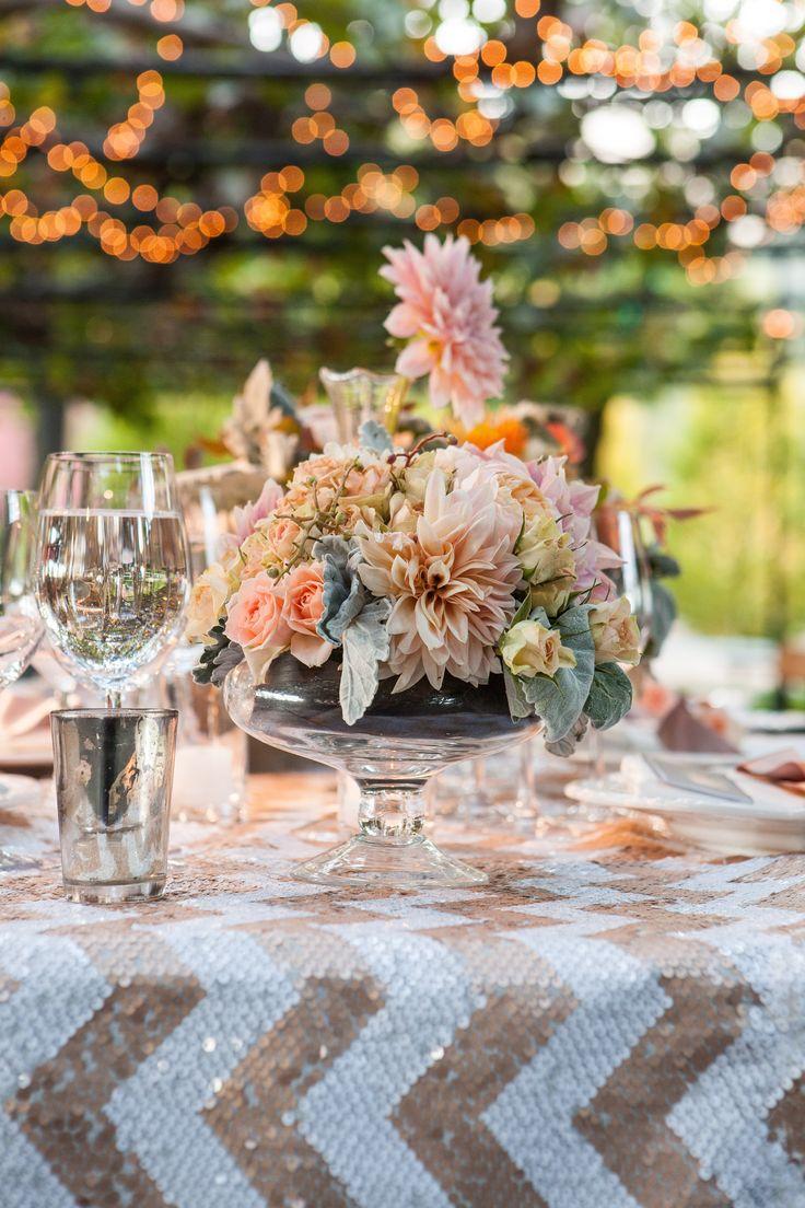 Photography: Elle Jae - ellejae.com/  Read More: http://www.stylemepretty.com/2014/08/06/fall-al-fresco-wedding-at-beaulieu-gardens/