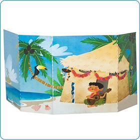 Costruite la capanna sulla spiaggia Piccolini Time! La trovate qui: http://www.piccolini.it/piccolini-time/#avventura/i-tropici/