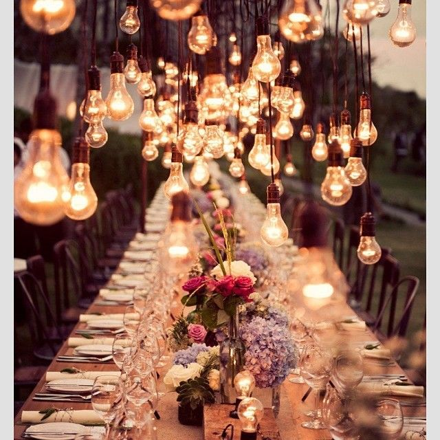Lumi via @Sarah Mariel Photography Weddings #eventdesign #events #eventstyling #eunev #lighting #tablescape