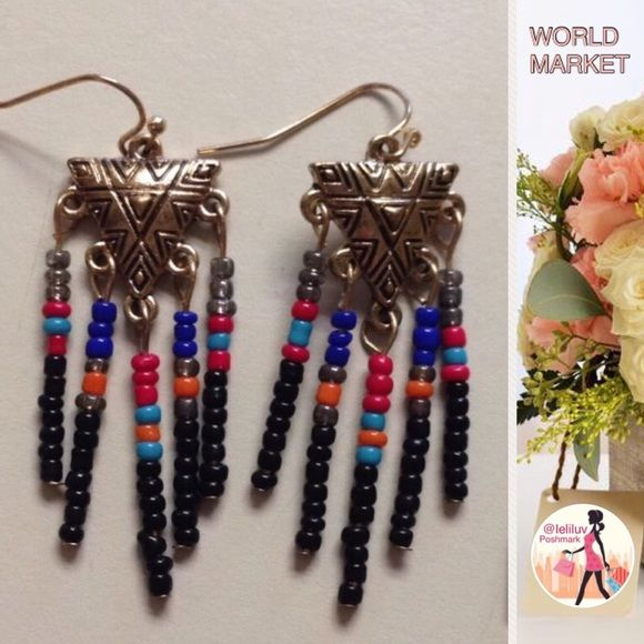 c6b42ca867eae 📣5 for $13📣 Tribal Aztec style dangle earrings NWT, so cute ...