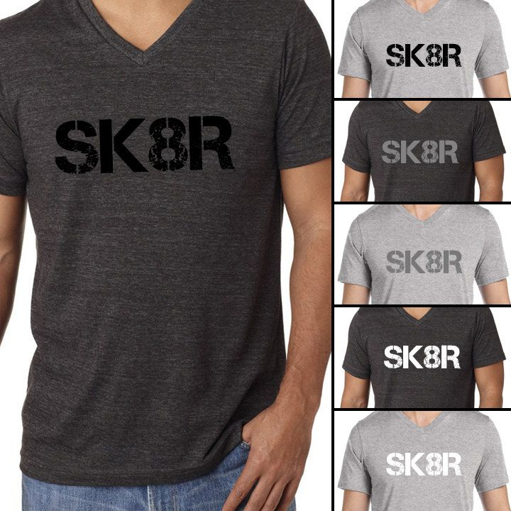 SK8R Mens Figure Skating Ice Skating Shirt by StylishSilhouettes on Etsy