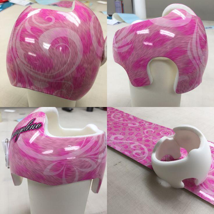 16 best decorating your cranial helmets baby helmets for Baby cranial helmet decoration