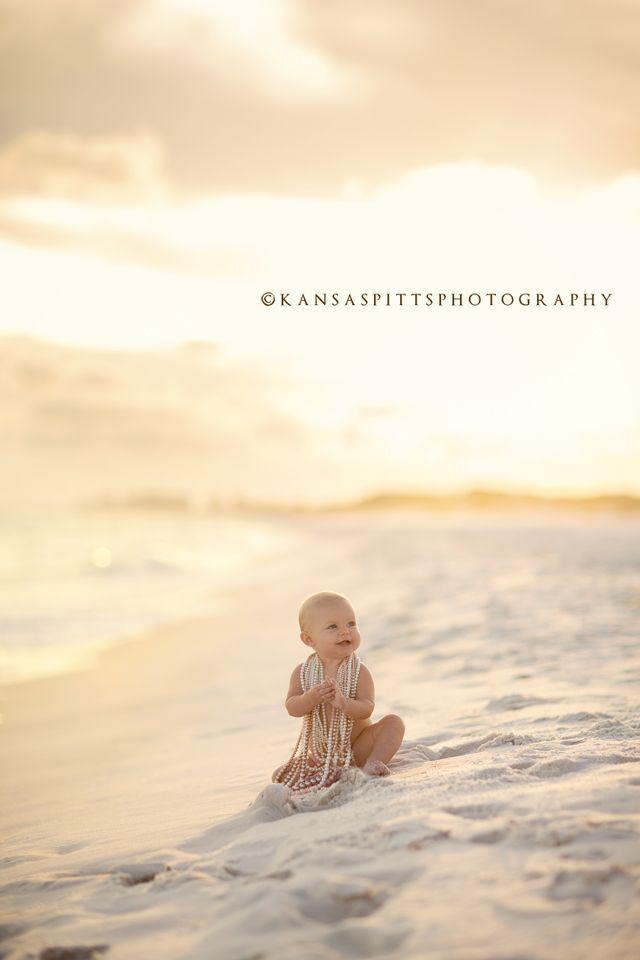 baby abbie   the beach session   kansas studios   kansas pitts photography