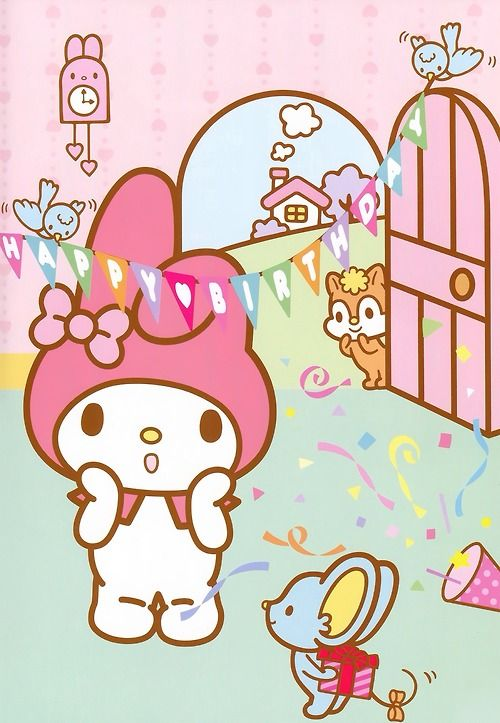 My melody surprise birthday party