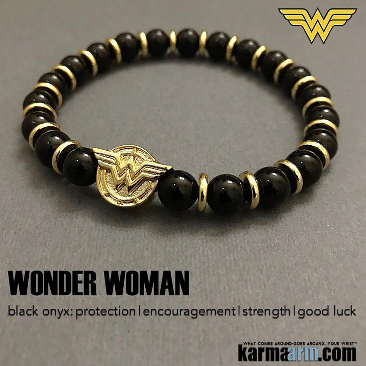 Wonder Woman Logo Bracelets –Black #Onyx CosPlay Comic-Con Jewelry.   #Wonder #Woman #Bracelets: Luxury #CosPlay #Comic-Con #Jewelry #WonderWoman #Star #Wars #Batman #Spiderman #Dark Knight #DC Comics #Marvel #GameofThrones #SuperHero #Planet of the #Apes #Jewelry. #WonderCon #Fangirl #Fanboy #Justice #League #JusticeLeague