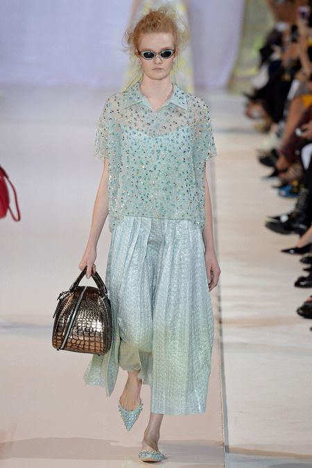Rochas Spring 2014 Ready-to-Wear