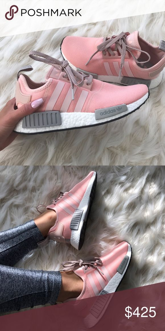 adidas nmd 100% authentic limited collection U.K. Exclusive adidas nmd women size 8 (These run big so would fit women's 8.5 or 9) brand new never worn :) I am willing to sell for a lower price on eBay if you are interested let me know & I'll make a listing for you. Adidas Shoes Sneakers