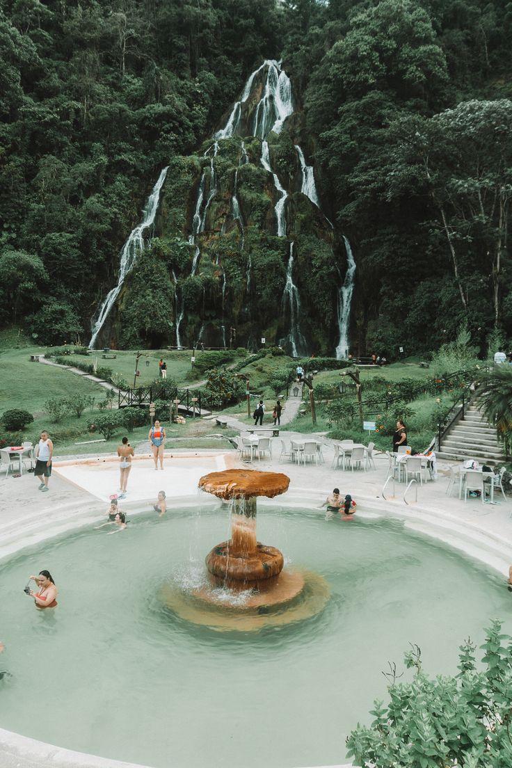 Santa Rosa hot springs in Colombia