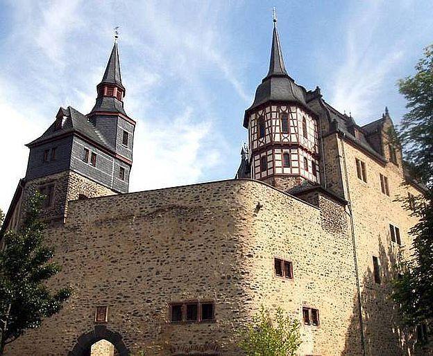 hôtel schloss romrod, D-36329 Romrod im Vogelsbergkreis, Hessen. © hôtel schloss romrod