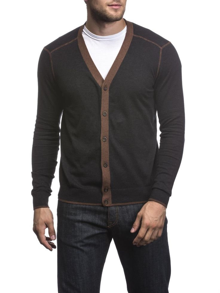 Agave San Francisco Button-down Cardigan Sweater - 11 Main
