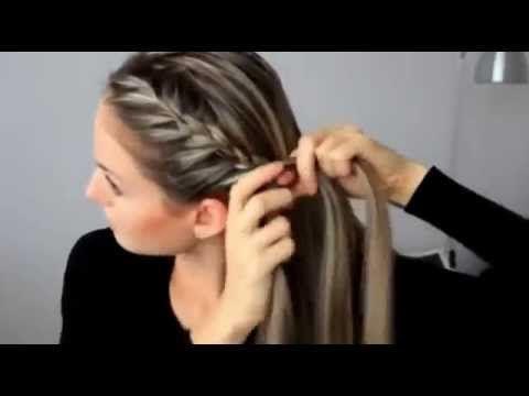 Простые и красивые повседневные прически для длинных волос - YouTube