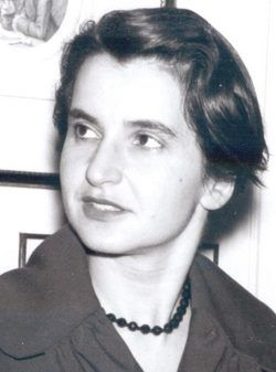 Rosalind Elsie Franklin, one of the most remarkable women scientists of the last century,was born on July 25, 1920.  Her initial research was in carbon fibre technology. Her later work took her into X-ray diffraction and her photographs of DNA gave the initial clue to the molecule's 'double-helix' structure.