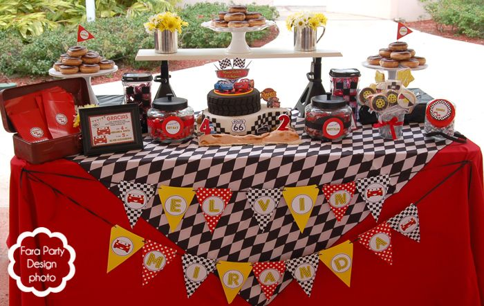 disney cars party snack ideas | party with a twist! The ideas can be incorporated to host this party ...