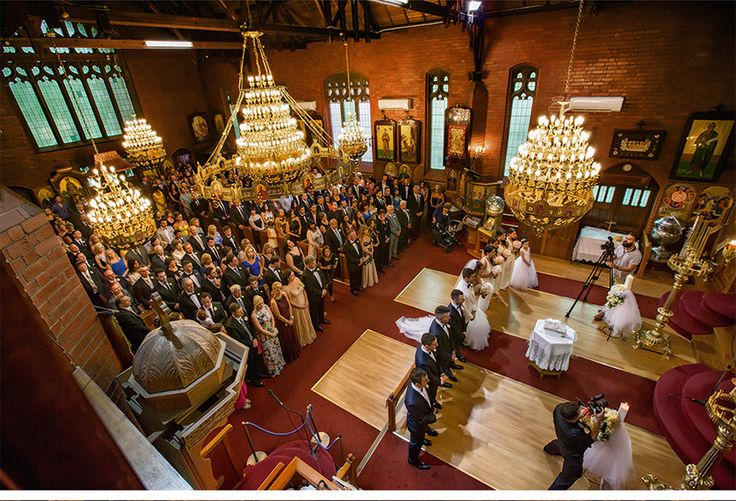Fashion-Inspired Wedding in Melbourne, Australia - Be inspired by Vicki & Stephen's luxurious and fashionable wedding in Melbourne, Australia #wedding #luxury #couture #fashion #inspired #melbourne #australia #greek #orthodox #church #ceremony #formal #party