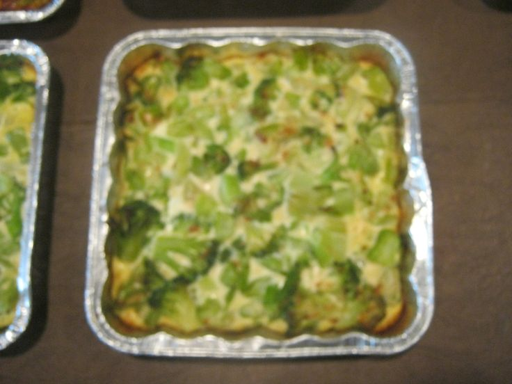Broccoli or spinach kugel recipe