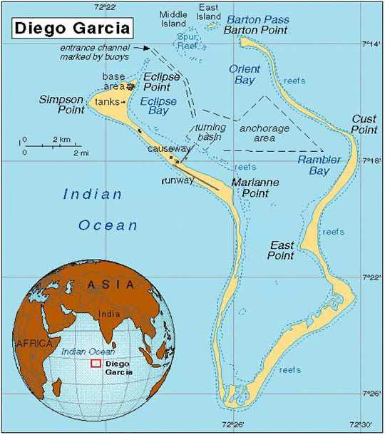 In the 1960s and 70s, the US and British governments collaborated to secretly expel the population of Diego Garcia in order to make way for an American military base.