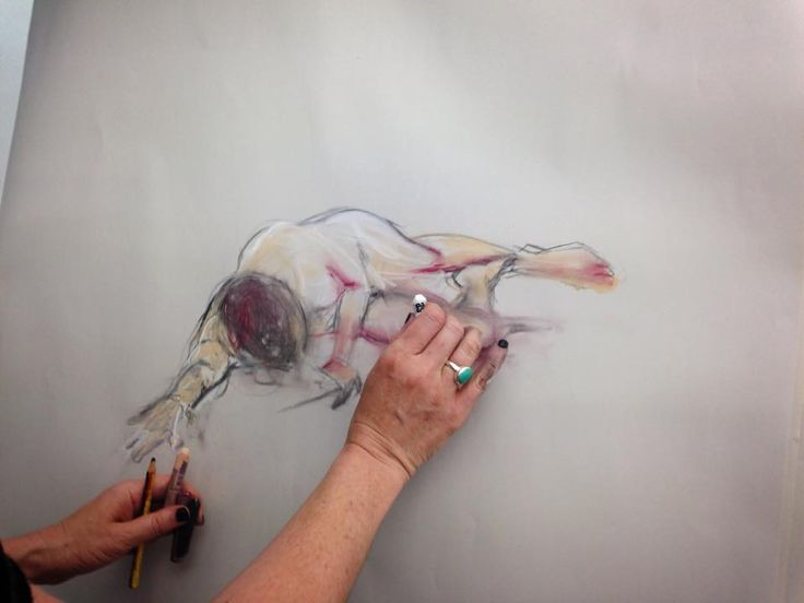 15 April 2015 - Life drawing session at Artsauce, 62 Roeland Street.