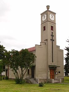 Church in Olomouc-Černovír (Czech Republic)