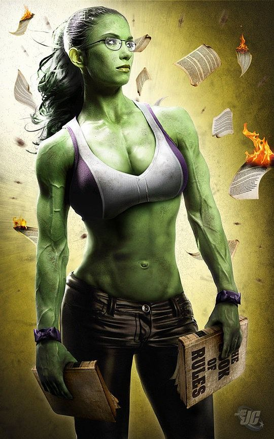 Love super hero female heroes! Cat woman. Supergirl. Wonderwoman. Incredible Hulk. Ghost Busters.