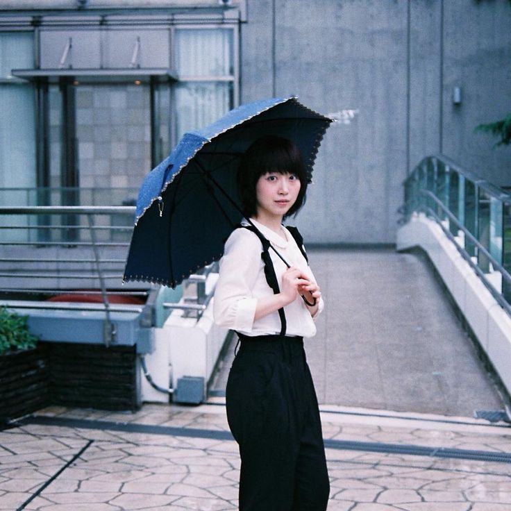 One day in the rainy day 2 #ヘアカラー #ヘアスタイル #スナップ #東中野 #雨 #haircolor #hairstyle  #tokyo  #雨の日の散歩